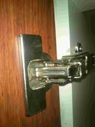 kitchen cabinet door hinge came how can i replace a kitchen cabinet hinge with no visible
