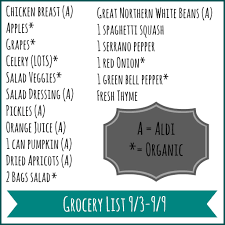 pcos grocery list meal plan and food prep for the week ahead