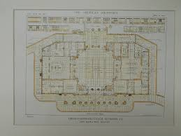 first floor plan union passenger station richmond va 1919