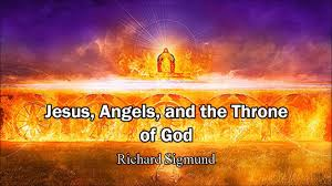armies of angels and throne of god in heaven richard sigmund u0027s