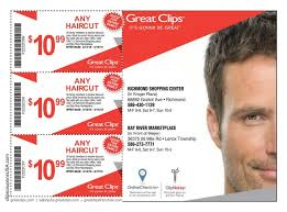 haircut specials at great clips clips coupons usa
