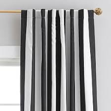 Navy And White Drapes All Teen Curtains U0026 Window Coverings Pbteen