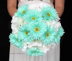 mint green flowers mint green wedding flower package theme wedding flowers