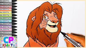 king lion coloring pages for kids 3 king lion coloring pages