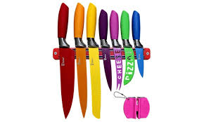 magnetic strips for kitchen knives up to 56 off on kitchen knife set plus magnet groupon goods