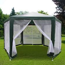 amazon com quictent 6 6 u0027x6 6 u0027x6 6 u0027 outdoor hexagon canopy party