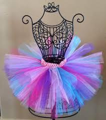 purple tulle baby girl tutu birthday tutu rainbow tutu colorful tulle tutu