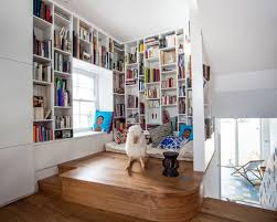 Small Library Room Ideas Houzz - Library interior design ideas