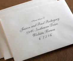 wedding envelope using titles on wedding invitations and wedding envelopes