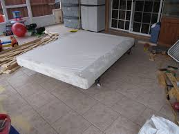 How To Build A Platform Bed With Storage Underneath by Re Building A Bed Foundation 12 Steps With Pictures