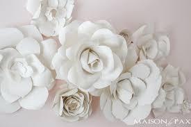 paper flowers diy paper flowers tutorial maison de pax