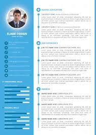 Indesign Resume Tutorial 2014 Slade Professional Quality Cv Resume Template By Sladedesign