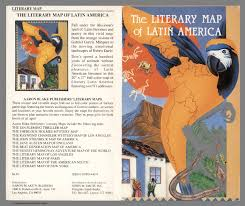 Map Of Latin America by Covers The Literary Map Of Latin America David Rumsey