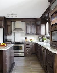 armoires de cuisine qu饕ec armoires de cuisine classiques en merisier québec simard cuisine