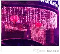 best sales led curtain lights string 10m 1m 448 leds backdrop