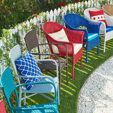 Outside Patio Furniture by Patio Furniture Free Shipping Over 49 Pier1 Com Pier 1 Imports