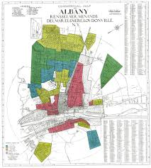 Albany Map Mapping A History Of Inequality In Albany Schenectady And Troy