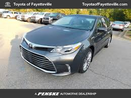 2018 new toyota avalon limited at toyota of fayetteville serving