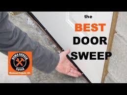 Exterior Door Weatherstripping Bottom Best Door Sweep For Exterior Doors By Home Repair Tutor
