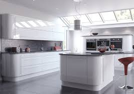 Grey Kitchens by High Gloss Grey Kitchen Cabinets Home Design Inspirations