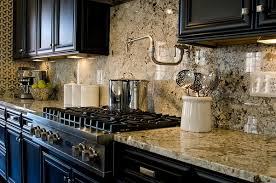 kitchen backsplash ideas black cabinets contemporary kitchen ideas black cabinets granite slab