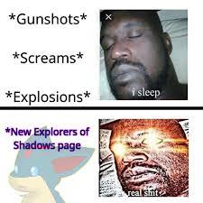 Ascended Meme - ascended eos sleeping shaq meme by ch1lly1 on deviantart
