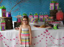 owl birthday party party ideas