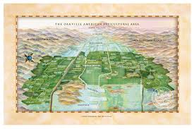 Map Of Napa The Oakville Ava Home Of The Biggest Names In Wine