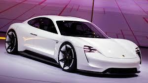 porsche tesla price porsche unveils all electric tesla fighting sports car la times