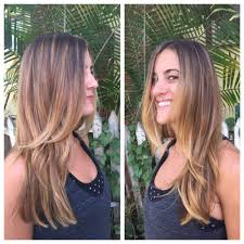 low maintenance bronde balayage and long layered haircut by amy