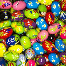 painted wooden easter eggs center wooden easter eggs pisanki pastel