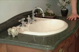 Bathroom Countertops And Sinks How To Make A Bathroom Vanity From An Antique Chest U2022 Diy Projects