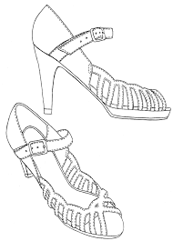 shoe technical sketches by sarah designs on deviantart