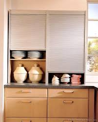 Kitchen Cabinet With Sliding Doors Kitchen Cabinets Sliding Cupboard Door Designs