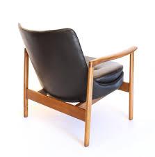 fauteuil dos galerie alexandre guillemain artefact design ib kofod larsen