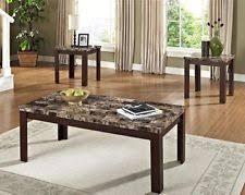 brown coffee table set coffee table set ebay
