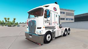 kenworth k200 usa skin stripes v2 0 tractor kenworth t800 for american truck simulator