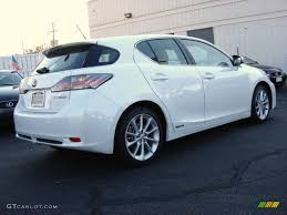 lexus ct hybrid white 2011 starfire white pearl lexus ct 200h hybrid premium 55592897