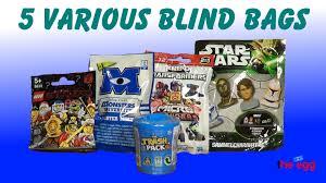 5 blind bags trash pack lego monsters university kreo