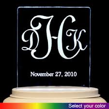 acrylic cake toppers personalized acrylic cake topper monogram 023 4471
