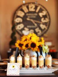 sunflower themed thanksgiving dessert buffet mojan sami