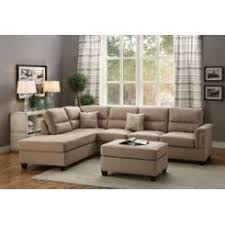 esofastore living room 3pc sectional reversible chaise sofa