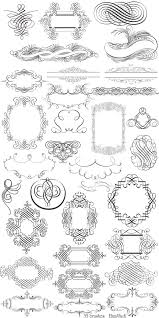 163 best printables french floral scrolls objects others images on