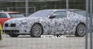 kereta bmw z4 spyshots new bmw 8 series seen for the first time