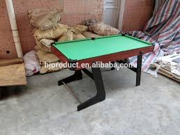 5ft Folding Pool Table New 6ft Foldable Fold Away Pool Table For Billiard Snooker Small