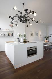 decorations stylish kitchen with white color scheme also fun