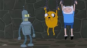 Bender Futurama Meme - bender meets finn and jake futurama know your meme