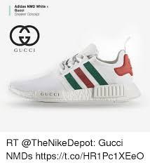 adidas x gucci adidas nmd white x gucci sneaker concept gucci gucci rt gucci nmds