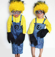 Minion Costumes Halloween Compare Prices Kids Minion Costume Shopping Buy