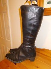 aldo s boots uk aldo civitanova black leather knee high boots uk 7 40